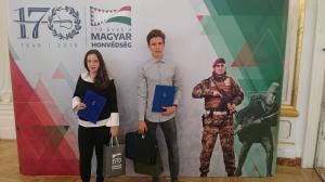 Honvédelmi díjátadó