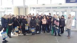 Kollégisták részvétele  az  Educatio Szakkiállításon 2017