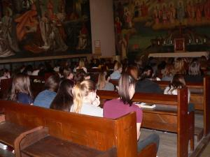 Bűnbánati liturgia a kollégiumban 2018.