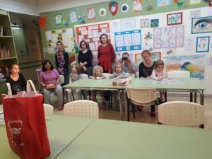 Kollégista diákok látogatása a megyei kórházban