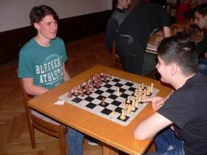 Sakkverseny a kollégiumban - 2016.